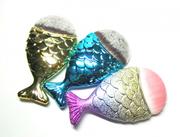 Щеточка для макияжа рыбка