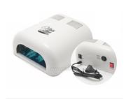 УФ лампа с таймером 120/180с+бесконечность 36W NailsTime ibl-L087